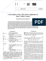 A Description of the CMG and Its Application to Space Vehicle Control