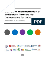 Georgia's Implementation of 20 Eastern Partnership Deliverables for 2020