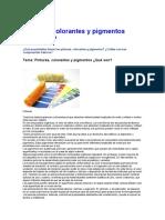 Pinturas colorantes y pigmentos.doc