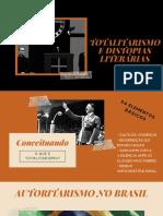 Totalitarismo - Literatura Distópica