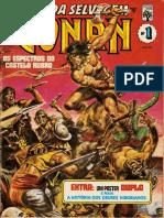 La Espada de Conan 001 HQ BR Editora Abril