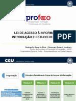 CGU - LEI DE ACESSO À INFORMAÇÃO