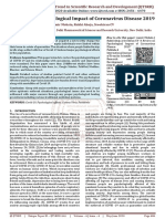 A Review on Psychological Impact of Coronavirus Disease 2019
