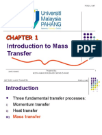 1. CHAPTER 1 INTRODUCTION & FICK'S LAW