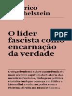 O Líder Fascista Como Encarnação Da Verdade - Federico Finchelstein