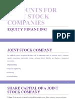 Equity Financing