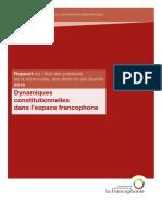 Rapport Democratire Droits Libertes 2016