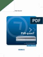 HUMAX PVR-9200T