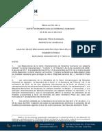 Cidh ratifica medidas de protección a Humberto Prado y las extiende a sus familiares (Resolución)