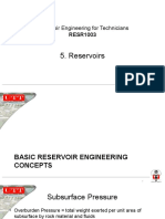 5. Reservoirs