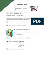 Spreadsheet games