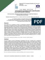 MANIFESTAÇÕES PATOLÓGICAS CAUSADAS POR CONSTRUÇÕES NAS EDIFICAÇÕES VIZINHAS Ibracon 2011