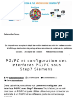 PG_PC et configuration des interfaces PG_PC sous Step7 Siemens