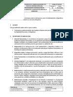 PC-GD-20  v1 PROCEDIMIENTO DISPENSACIÓN A DOMICILIO