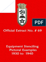 158th Field Artillery Official Extract No. 69