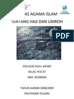 Makalah Agama Islam (Haji Dan Umroh)