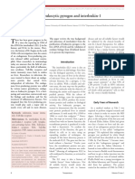 The history of fever, leukocytic pyrogen and interleukin-1