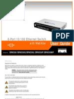 Linksys SRW208 Manual