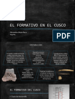 EL FORMATIVO EN EL CUSCO