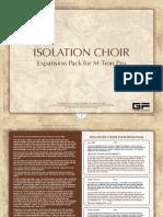 Isolation Choir Manual