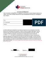 Convention Reglement