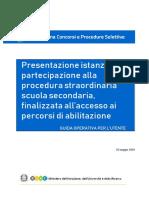 PC Istanza ProceduraStraordinaria PercorsiAbilitanti-GuidaOperativa-1.0