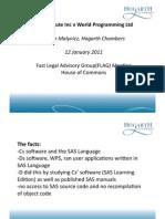 Simon Malynicz - SAS Case v2