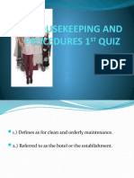 KIM HOUSEKEEPING AND PROCEDURES 1ST QUIZ PPT.pptx