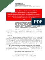 CBMRS - Resolução técnica 05 parte-07 2020-edificacoes licenciadas-pela-LC 14376-2013