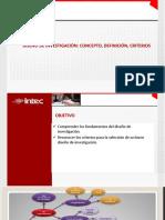 UNIDAD 6 Diseño y concepto de investigación