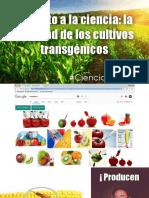 Del mito a la ciencia la realidad de los cultivos transgénicos