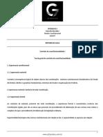 Roteiro de aula - aula 07 - Controle de Constitucionalidade