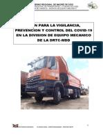 PLAN REINICIO ACTIVIDADES DEM 2020 MAYO CORREGIDO CON CUADRO DE PRESUPUESTO.docx