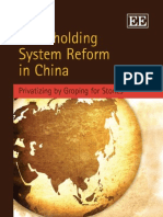 Shareholding System Reform in China - Shu-Yun Ma