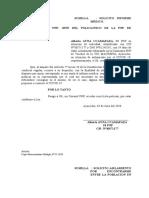 SOLICITUD AISLAMIENTO PNP POR COVID-19