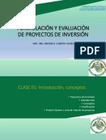 Clase 1.- Proyectos de inversión_introducción-conceptos