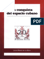 20 La conquista del espacio cubano