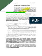 CONTRATACION DE UN JEFE DE PERSONAL-Luis fernando camargo neira