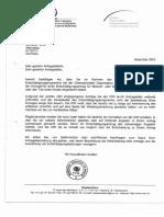 20011201 Antwort German Forced Labour Compensation Programme