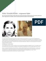 Polen- Geraubte Kinder - vergessene Opfer - Europa - DW - 29.12.2017