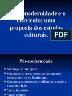 A pós-modernidade e o currículo