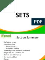 Math 7 and 8 - SETS