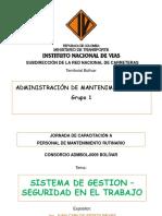 3SISTEMA DE GESTIÓN SEGURIDAD EN EL TRABAJO