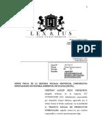SOLICITO LEVANTAMIENTO DE RESERVA PROVISIONAL