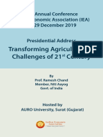 Transforming Agriculture