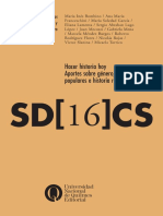 Hacer historia hoy. Aportes sobre género, sectores populares e historia reciente (UNQ, serie digital N° 16)
