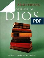 En Defensa de Dios, el sentido de la religion - Karen Armstrong