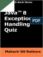 Rathore Mahavir. - Java 8 Exception Handling Quiz.pdf
