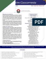 Boletim Geocorrente 30 - 21 MAR 2016