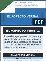 1. EL ASPECTO VERBAL 2020